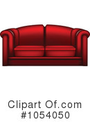 Couch Clipart #1054050 by vectorace