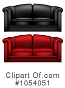 Couch Clipart #1054051 by vectorace