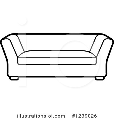 Furniture Clipart #1239026 by Lal Perera