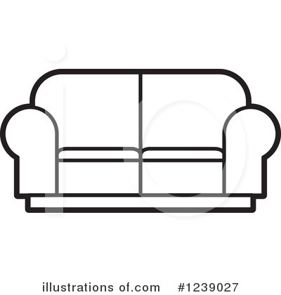 Furniture Clipart #1239027 by Lal Perera