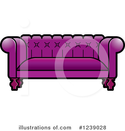 Furniture Clipart #1239028 by Lal Perera
