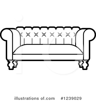 Furniture Clipart #1239029 by Lal Perera