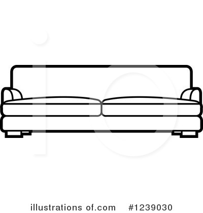Furniture Clipart #1239030 by Lal Perera