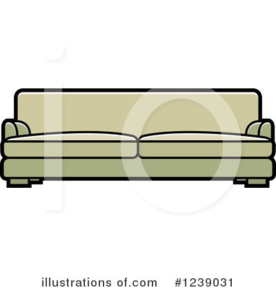 Furniture Clipart #1239031 by Lal Perera