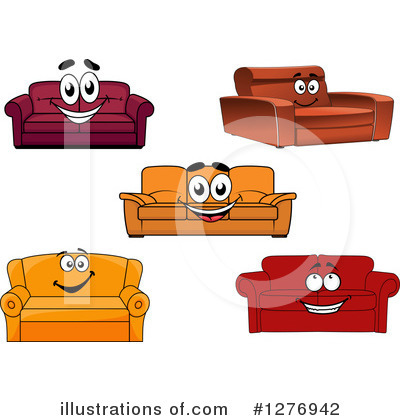 Furniture Clipart #1276942 by Vector Tradition SM
