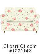 Couch Clipart #1279142 by BNP Design Studio