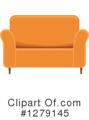 Couch Clipart #1279145 by BNP Design Studio
