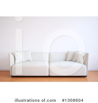 Living Room Clipart #1308604 by Mopic