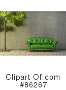 Couch Clipart #86267 by Mopic