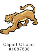 Cougar Clipart #1087838 by Chromaco
