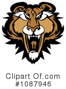 Cougar Clipart #1087946 by Chromaco