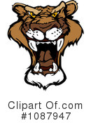 Royalty-Free (RF) Cougar Clipart Illustration #1087947