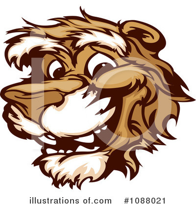 Cougar Clipart #1088021 by Chromaco