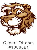 Royalty-Free (RF) Cougar Clipart Illustration #1088021