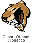 Cougar Clipart #1089020 by Chromaco