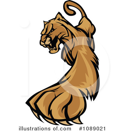 Cougar Clipart #1089021 by Chromaco