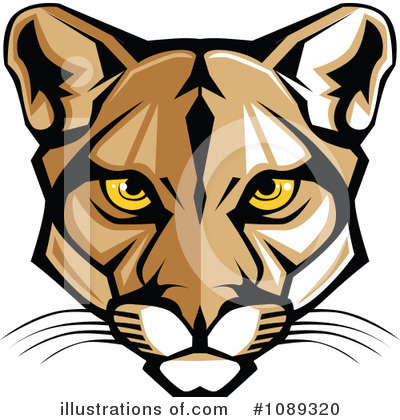 Cougar Clipart #1089320 by Chromaco