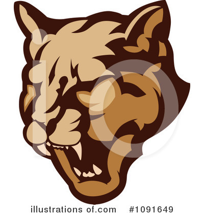 Cougar Clipart #1091649 by Chromaco