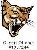Cougar Clipart #1097244 by Chromaco