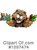 Cougar Clipart #1097474 by Chromaco