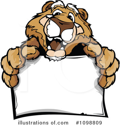 Cougar Clipart #1098809 by Chromaco