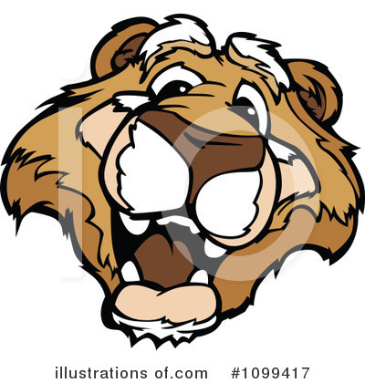 Cougar Clipart #1099417 by Chromaco