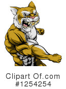 Royalty-Free (RF) Cougar Clipart Illustration #1254254