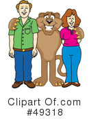Cougar Mascot Clipart #49318 by Toons4Biz