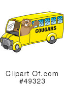 Cougar Mascot Clipart #49323 by Toons4Biz