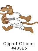 Cougar Mascot Clipart #49325 by Toons4Biz