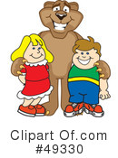 Cougar Mascot Clipart #49330 by Toons4Biz