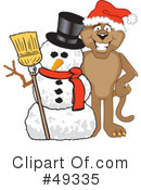 Cougar Mascot Clipart #49335 by Toons4Biz