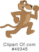 Cougar Mascot Clipart #49345 by Toons4Biz