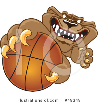 Basketball Clipart #49349 by Toons4Biz