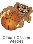Cougar Mascot Clipart #49349 by Toons4Biz