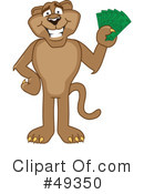 Cougar Mascot Clipart #49350 by Toons4Biz