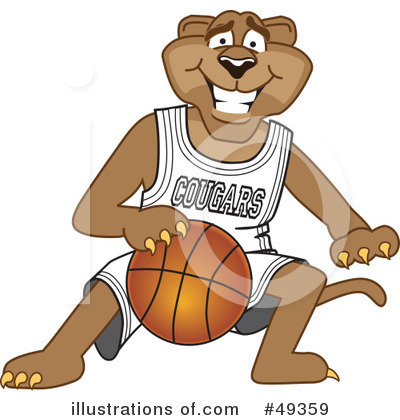 Basketball Clipart #49359 by Toons4Biz