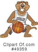 Cougar Mascot Clipart #49359 by Toons4Biz