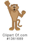 Cougar School Mascot Clipart #1361689 by Toons4Biz