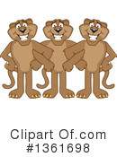 Cougar School Mascot Clipart #1361698 by Toons4Biz