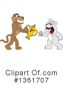 Cougar School Mascot Clipart #1361707 by Toons4Biz