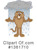 Cougar School Mascot Clipart #1361710 by Toons4Biz