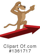 Cougar School Mascot Clipart #1361717 by Toons4Biz