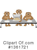 Cougar School Mascot Clipart #1361721 by Toons4Biz