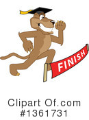 Cougar School Mascot Clipart #1361731 by Toons4Biz