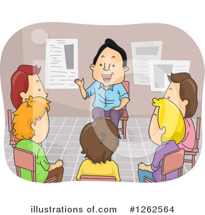 Meeting Clipart #1262564 by BNP Design Studio