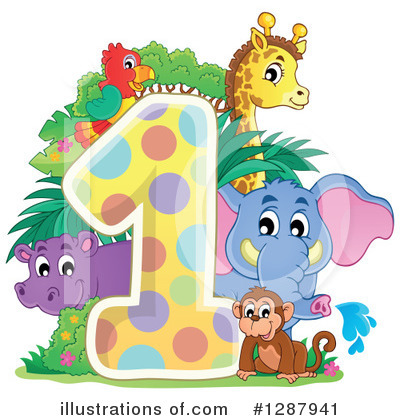 Elephant Clipart #1287941 by visekart