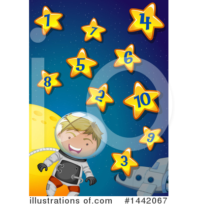 Astronaut Clipart #1442067 by Graphics RF