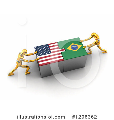 American Flag Clipart #1296362 by stockillustrations