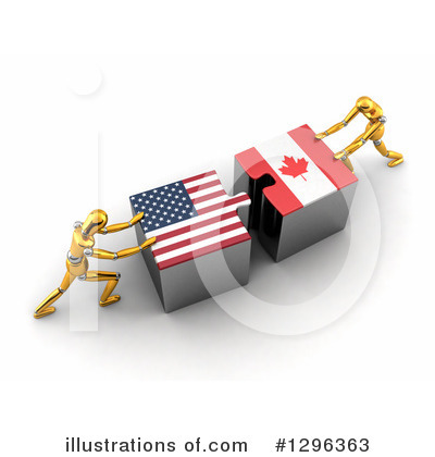American Flag Clipart #1296363 by stockillustrations